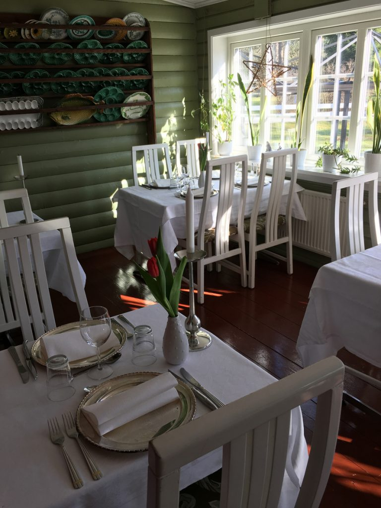 Restaurangen är öppen hela året