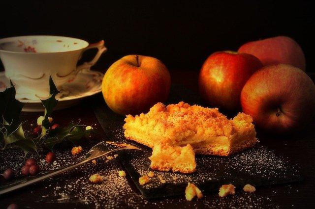 Äppelpaj Gåsmiddag Restaurang